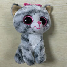"""NEW KIKI the Cat with bowknot 6"""" Stuffed toy NOT Tush Tag and heart tag"""