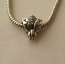 Queen Bee Insect Dangle Bead Fits Most European Style Charm Bracelet Or Necklace