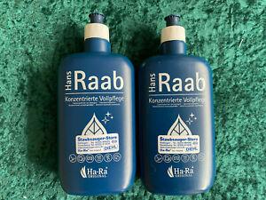 ORIGINAL Ha-Ra  Hans Raab Reiniger Konzentrat Vollpflege 2 x 500 ml