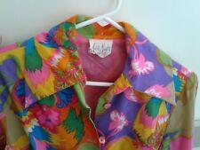 Vintage 1960's ORIGINAL~ Adele Martin SUPER MOD ~ HIPPIE/ Boho Dress SZ.M