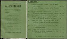 LA VITA ITALIANA     LA  GUERRA  ITALO  TURCA  CAUSE  E  SCOPI    SETTEMBRE 1915