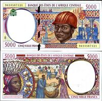 CENTRAL AFRICAN STATES CAMEROUN 5000 5,000 FRANCS 1994 P 204 E AUNC