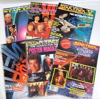Vintage Star Trek Movies II-VII Starlog Magazine Lot of 6- Unread (G4254)