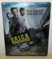 BRICK MANSIONS - STEELBOOK - BLU-RAY