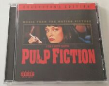 PULP FICTION COLLECTOR S EDITION MUSIC FROM THE MOTION PICTURE CD SOUNDTRACK