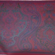 RED , BLUES, AND GREEN PAISLEY WALLPAPER BORDER