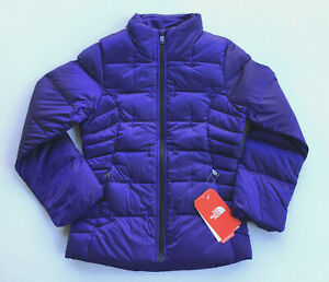 NEW $120 NORTH FACE GIRLS ACONCAGUA JACKET DOWN WINTER COAT YOUTH L LARGE 14 16