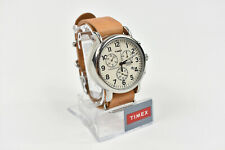 TIMEX WC063500 Weekender Chronograph Cream/Tan 40mm Indiglo Water Resistant