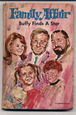 Gladys Baker Bond FAMILY AFFAIR BUFFY FINDS A STAR HC 1970 Vintage