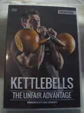 """""""NEW"""" WEIGHT TRAINING DVD """"KETTLEBELLS - THE UNFAIR ADVANTAGE"""""""