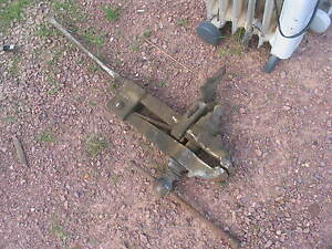 "Old Vintage Antique  Post Vise 5"" jaws Black Smith"