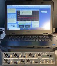 dScope Series III Analogue & Digital Audio Analyzer PrismSound Tester PC Base