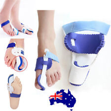 1Pair Big Toe Bunion Foot Pain Relief Hallux Valgus Night Splint Straightener ON