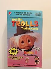 NORFIN TROLLS TRADING CARDS SERIES 1 THE INTRODUCTION COMPLETE CASE