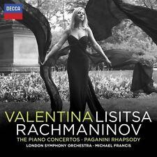 VALENTINA LISITSA/+ - RACHMANINOFF-KLAVIERKONZERTE/PAGANINI RHAPSODY  2 CD NEU