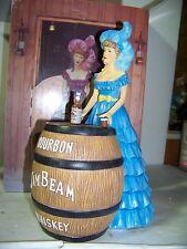 2012 IAJBBSC Jim Beam Convention Saloon Girl Decanter Blue Dress