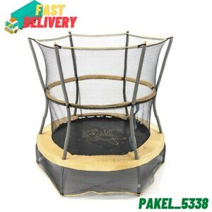 Skywalker Trampolines 55-Inch Bounce-N-Learn Trampoline,with Enclosure and Sound