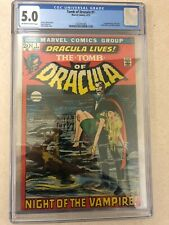 TOMB OF DRACULA #1 CGC 5.0 OW/W pages 1st App Dracula