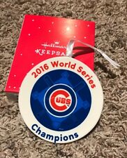 On Sale Today - Hallmark 2016 Chicago Cubs World Series Champions Ornament