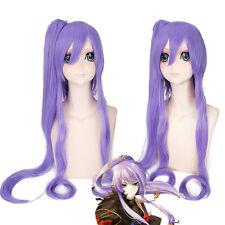 Vocaloid Gackpoid Miku Gakupo Split Ponytail Cosplay Anime Wig heat resistant