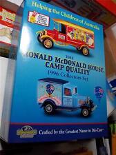 Matchbox Yest ~McDONALDS~HAPPY MEALS~1996 FUND RAISER~2 DELIVERY TRUCKS ~NEW~MIB