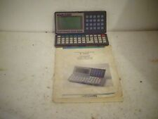 vintage olivetti D1000 electronic note book