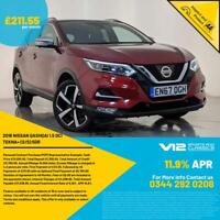 2018 67 NISSAN QASHQAI TEKNA PLUS DCI HIGH SPEC 360 CAMERA 1 OWNER SVC HISTORY