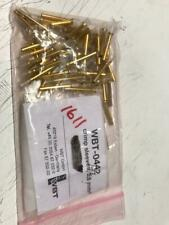 WBT-0442 2.5mm Crimp Sleeves 14 AWG QTY: 31 - Made In Germany 24K Gold Plated