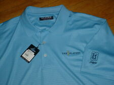 Nwt The Players Championship Tpc Sawgrass Golf Polo By Oxford Blue Xl Pga-Tour