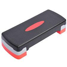 Dr. Health (TM) Adjustable Aerobic Stepper Step Exercise Trainer Workout Fitness