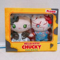 USJ Osaka Sanrio HELLO KITTY CHUCKY 2018 Halloween 2 Plush Doll Japan Limited