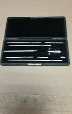 Vintage Starrett Inside Micrometer Set 2to 8 With Case