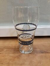 Dallas Cowboys Coca-Cola Bell shaped Mobil collector glass NFL Football