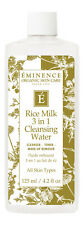Eminence Rice Milk 3 in 1 Cleansing Water 4.2 oz. Face Makeup Remover