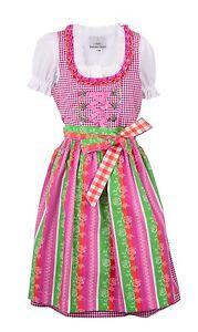 Ramona Lippert® Kinderdirndl Lina, Rosa  3-teiliges Trachtenkleid Dirndl Mädchen