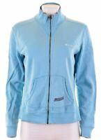 CHAMPION Womens Tracksuit Top Jacket Size 16 Large Blue Cotton  F115