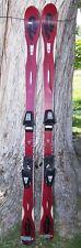 K2 Escape Synchro 160cm Skis 15m Radius 16mm Sidecut + Salomon 500 Bindings