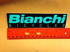 "6""  BIANCHI BIKE STICKER DECAL - Great for Bike Tool Box Car Work stand and MORE"