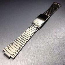 Solid Stainless Steel Bracelet Strap For Omega Watch Lug 11mm / 21mm End Links