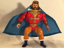 "Vintage He-Man MOTU ""King Randor Action Figure w/Accessories"" 1981, Mattel"