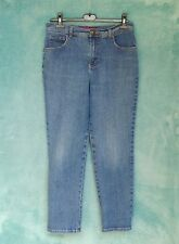 "Gloria Vanderbilt Jeans Size 10 Short Straight Mid Blue 28"" Leg Stretch"
