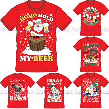 Mens Womens Adults Unisex Novelty Christmas Xmas T-shirt Top Tee Festive Gift UK