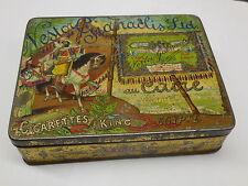 Original tin 1920's Nestor Gianaclis-100 Cigarettes-King-Caire Egypte