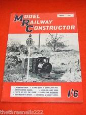 MODEL RAILWAY CONSTRUCTOR - MIDLAND LAMP POT - MARCH 1958