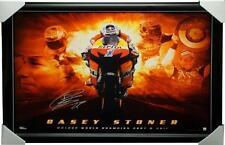 Casey Stoner DUCATI 2011 World Champion Official Signed Facsimile Print FRAMED