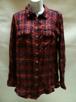 Fat Face Mix Stripe Checked Long Sleeve Shirt New Tag RRP £35 Bnwt - New - UK 12