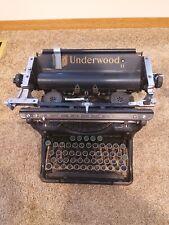 Antique Underwood Typewriter - Working Condition
