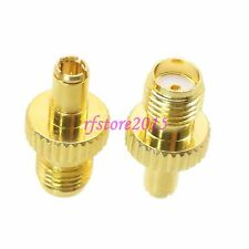 1pce Adapter Connector SMA female jack to TS9 male Gold for USB Modem Antenna