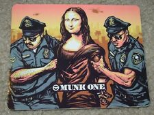 MUNK ONE Sticker ILLEGAL ART from poster print Invisible Industries