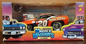 2005 Muscle Machines 1:24 Scale '69 Camaro Tony Stewart #20